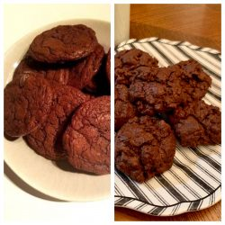 Absolutely Deep Dark Chocolate Fudge Cookies: Cookbook Review